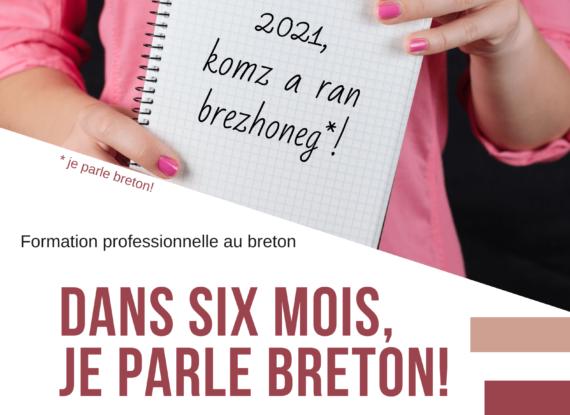 Formation de six mois au breton à Quimper et Morlaix en janvier 2021