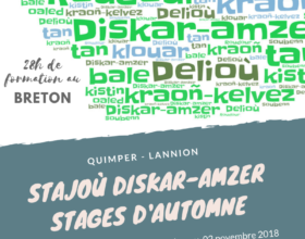 Stajoù diskar-amzer – Stages d'automne