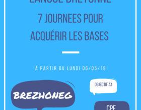 Nouvelle formation à Paimpol: les bases du breton en 7 journées