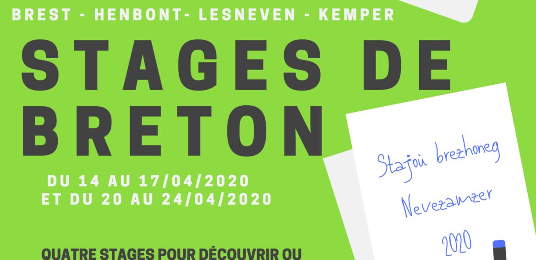 Annulation des quatre stages de breton prévus en avril