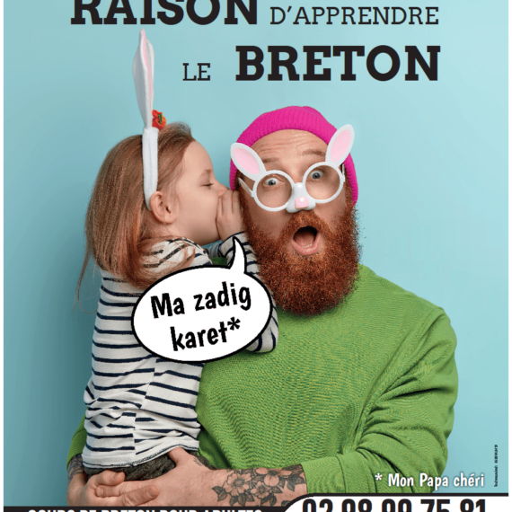 Un abeg mat da zeskiñ brezhoneg – Une bonne raison d'apprendre le breton