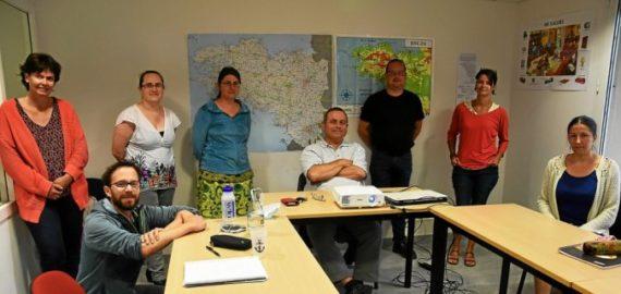 À Lannion, stages et formation au breton avec le centre Roudour. Ouest-France 29/06/2020