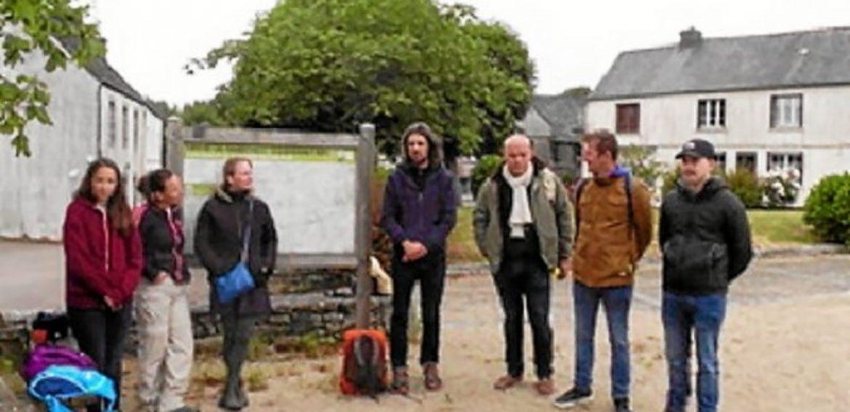 Des stagiaires de Roudour découvrent La Feuillée – Le Télégramme. 11/06/2020