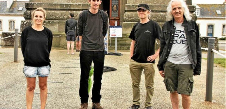 Une visite du phare d'Eckmühl pour clore une formation au breton. Le Télégramme. 29/06/2020