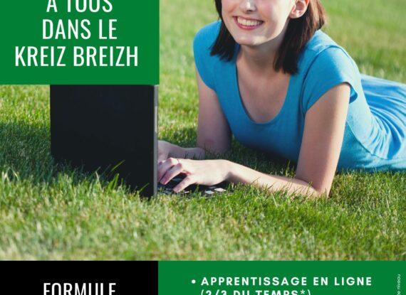 Formation hybride : Ambroug, la formation au breton adaptée à tous dans le Kreiz Breizh