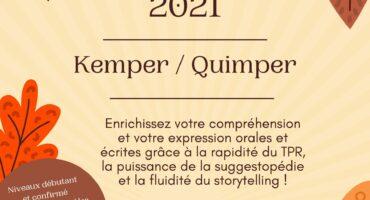 Stage d'automne 2021 : profitez des vacances pour apprendre ou perfectionner votre breton !